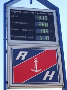 Kdyby někdo nevěřil, že na Baltu bývá teplo :)