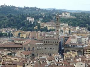 Vyhlídka na Florencii