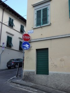 Florencie - streetart