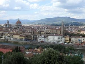 Výhled na Florencii